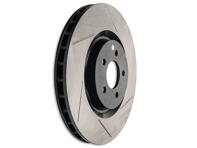 StopTech Slotted Rotors - Front Pair (07-12 GT500; 12-13 BOSS 302)