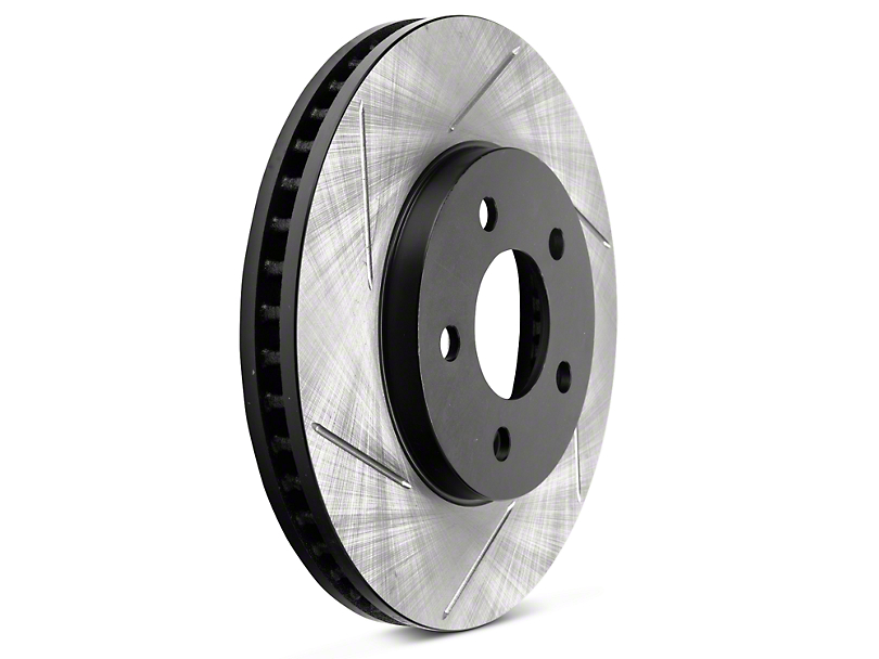 StopTech Sport Slotted Rotors - Front Pair (05-10 V6)