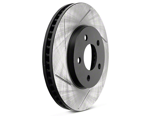 StopTech Sport Slotted Rotors; Front Pair (05-10 V6)
