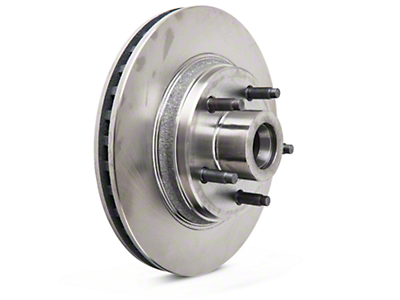 OPR Replacement Front Rotor - 5 Lug (84-86 SVO; 79-93 w/ 5-Lug Conversion)