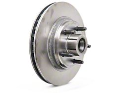 OPR Replacement 5-Lug Rotor; Front (84-86 SVO; 79-93 w/ 5-Lug Conversion)