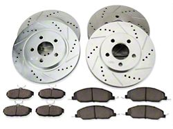 Power Stop Z23 Evolution Sport Brake Rotor and Pad Kit; Front and Rear (05-10 V6)