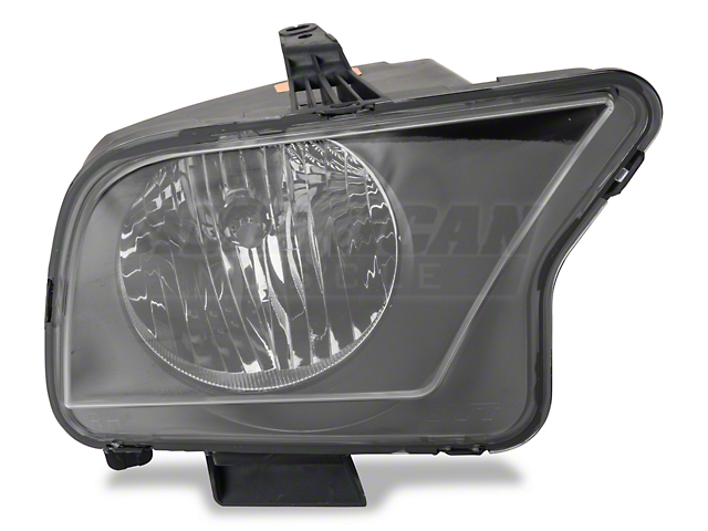 Ford Factory Replacement Headlight; Passenger Side (07-09 GT500)