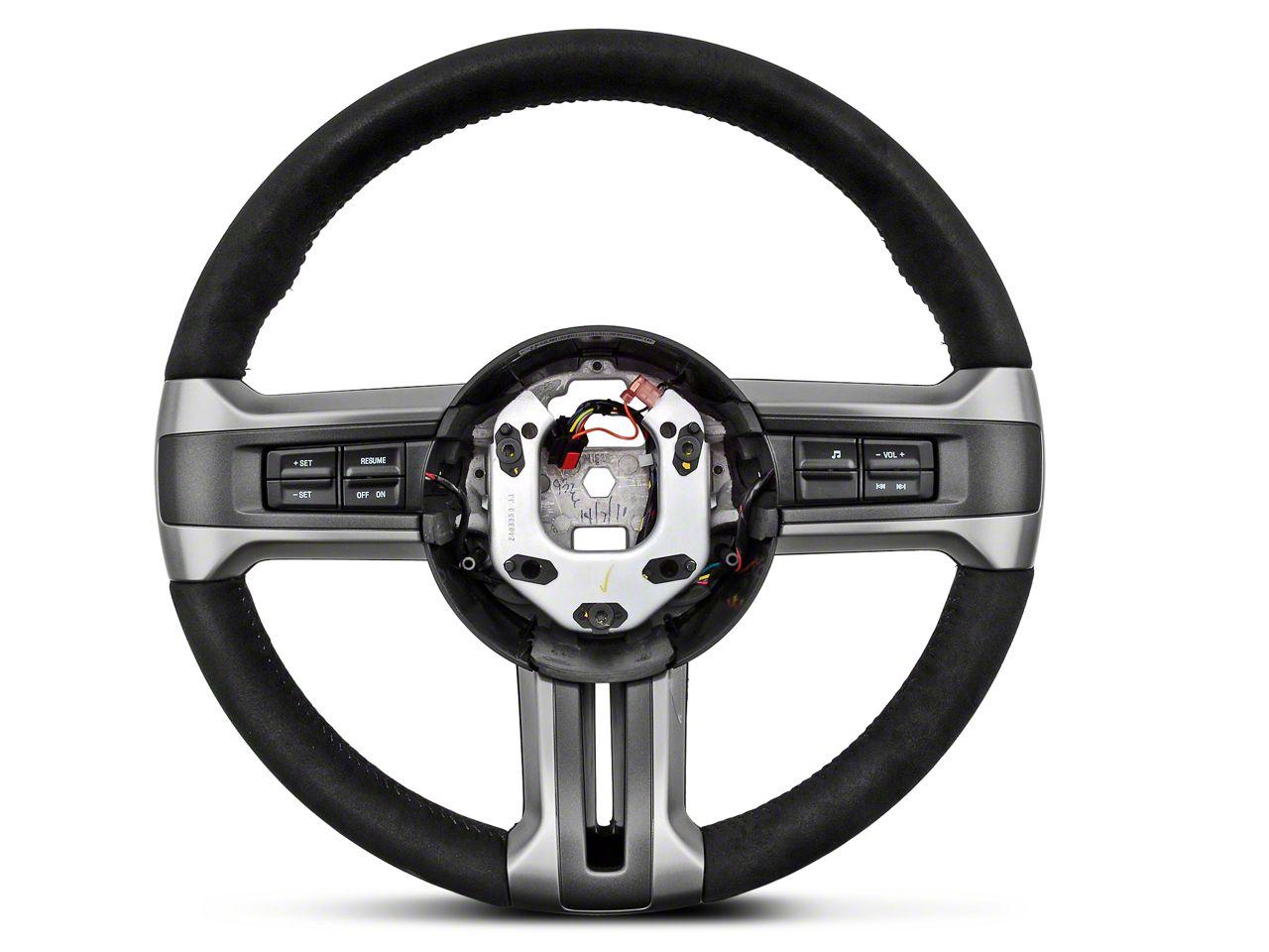 Ford BOSS 302 Alcantara Suede Steering Wheel (10-14 All)