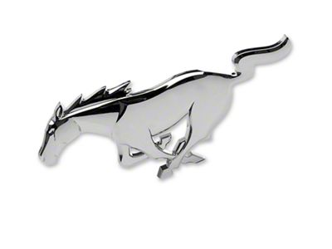 Ford Pony Grille Emblem (10-14 GT, V6)