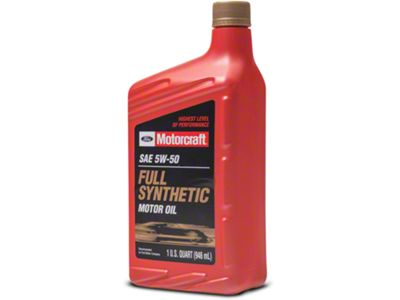 Ford Motorcraft 5W50 Motor Oil