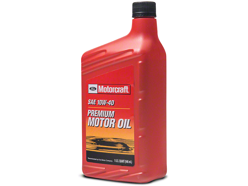 Ford Motorcraft 10W40 Motor Oil