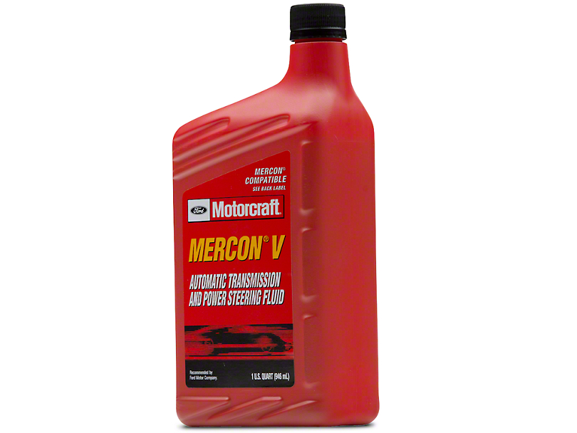 Ford Motorcraft Mercon V Transmission Fluid - Automatic Transmission