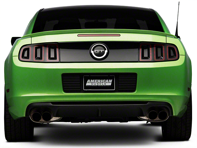 ford mustang shelby gt500 rear valance dr3z 17f828 ab 13 14 all