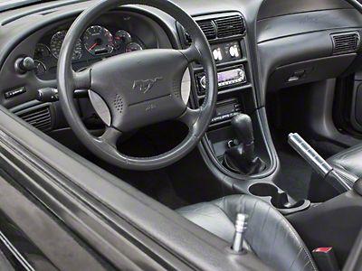 Modern Billet Mustang Polished Billet Interior Complete Kit