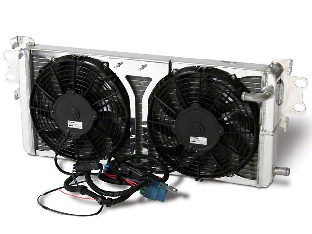 AFCO Pro-Series Heat Exchanger with Fans (07-12 GT500)