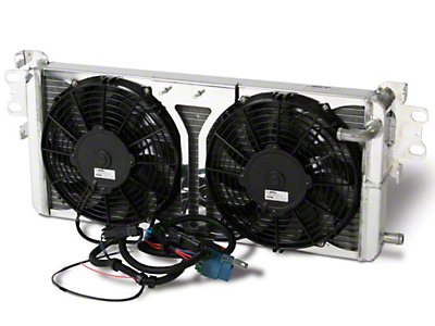 AFCO Pro-Series Heat Exchanger w/ Fans (07-12 GT500)