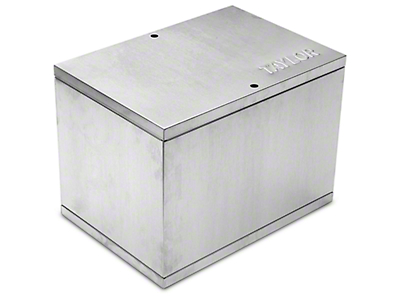 Taylor Aluminum Relocation Battery Box (79-19 All)