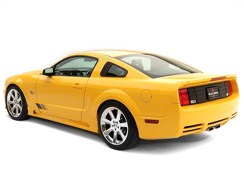 Saleen S281 Rear Fascia Kit - Unpainted (05-09 GT)