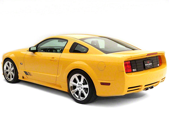 saleen mustang s281 rear fascia kit unpainted 10 1103 b112980 05 09 gt free shipping. Black Bedroom Furniture Sets. Home Design Ideas