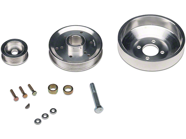 BBK Underdrive Pulleys (96-Mid 01 GT; 96-99 Cobra)