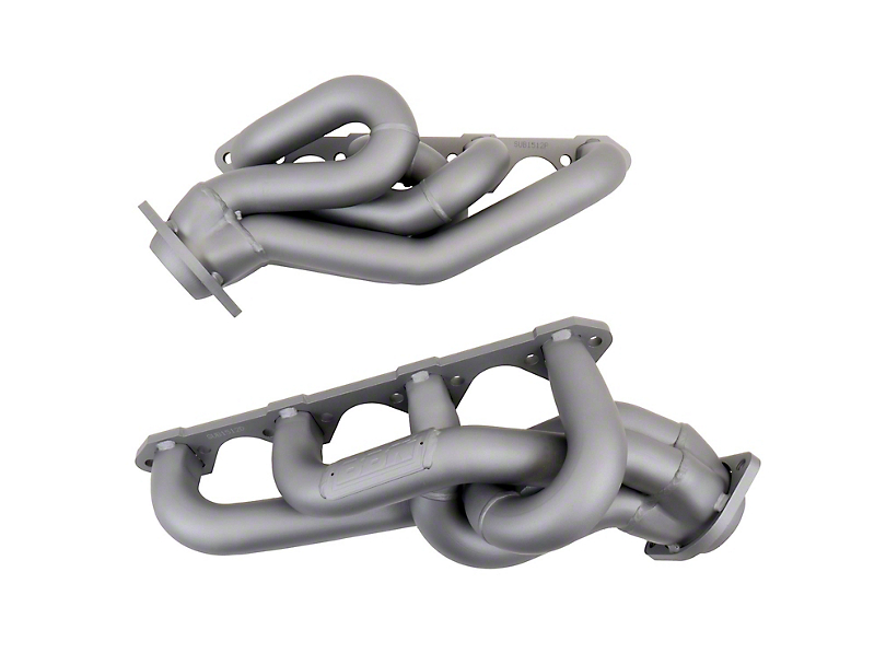 BBK 1-5/8 in. Chrome Equal Length Shorty Headers (86-93 5.0L)