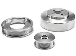 BBK Underdrive Pulleys; Aluminum (94-95 GT)