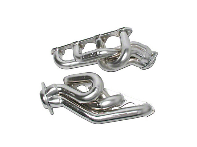 BBK 1-5/8-Inch Equal Length Shorty Headers; Chrome (94-95 GT, Cobra)