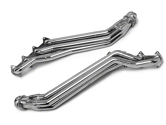 BBK 1-5/8-Inch Long Tube Headers; Ceramic (05-10 GT)