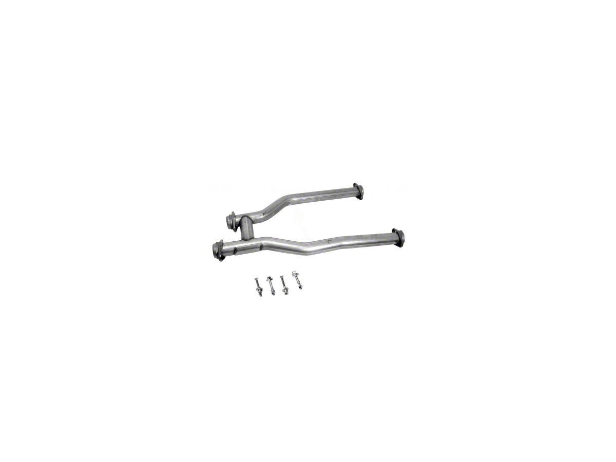 BBK Off-Road H-Pipe For Long Tube Headers 79-93 Mustang 5.0 GT, LX /& SVT Cobra