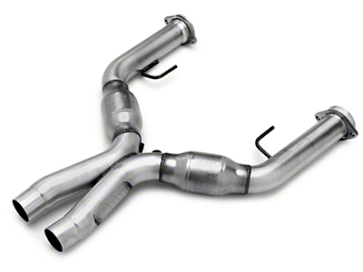 BBK Catted X-Pipe (05-10 GT w/ Long Tube Headers)