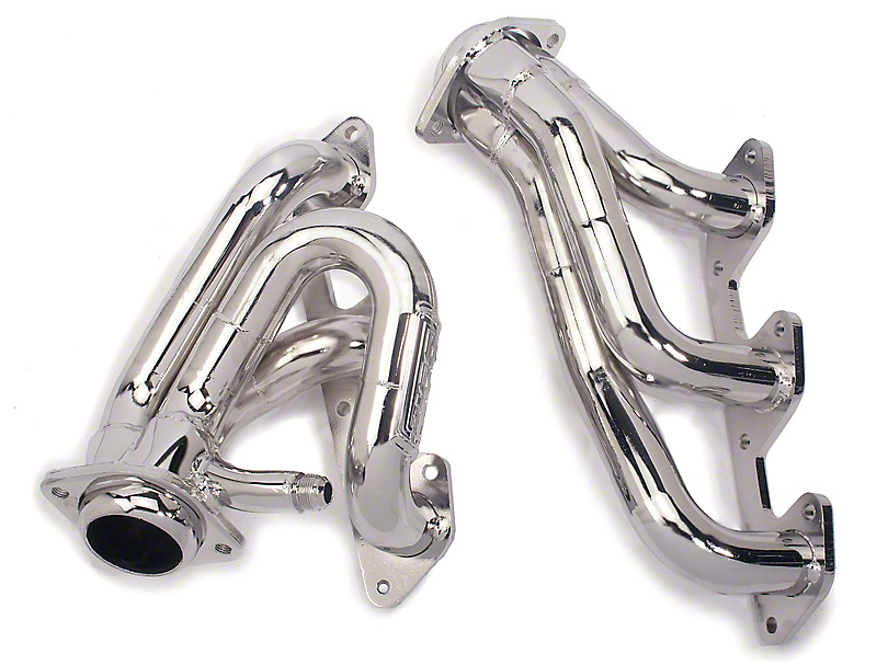 BBK 1-5/8 in. Chrome Tuned Length Shorty Headers (05-10 V6)