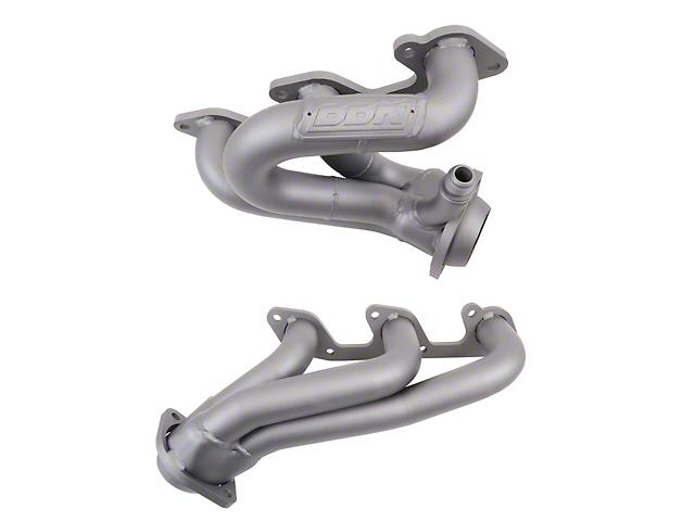 BBK 1-5/8-Inch Tuned Length Shorty Headers; Chrome (05-10 V6)