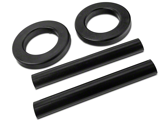 SR Performance Polyurethane Spring Isolators; Front (79-04 All)