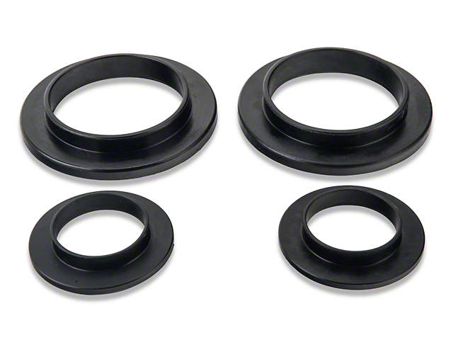 SR Performance Polyurethane Spring Isolators - Rear (79-04 GT, V6, Mach 1; 93-98 Cobra)