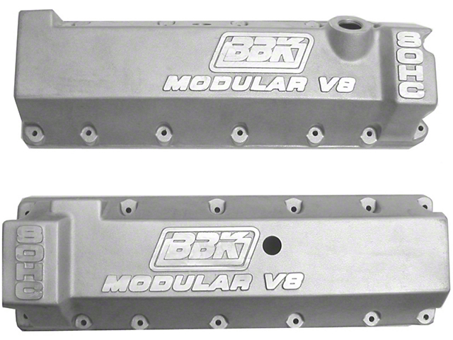 BBK Aluminum Valve Covers - 13/14 Bolt Pattern (96-04 GT)