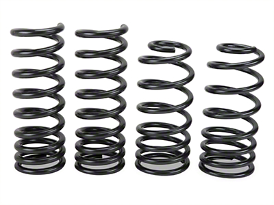 BBK Progressive Rate Lowering Springs (79-04 GT, 93-98 Cobra; 03-04 Mach 1)