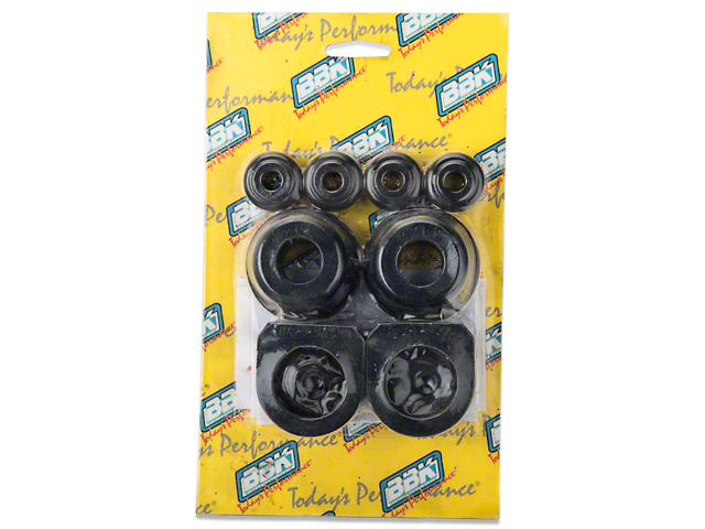 Polyurethane Suspension Bushings >> Bbk Mustang Polyurethane Suspension Bushing Kit 2502 86 93 5 0l