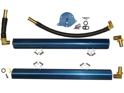 BBK High Flow Aluminum Fuel Rail Kit (86-93 5.0L)