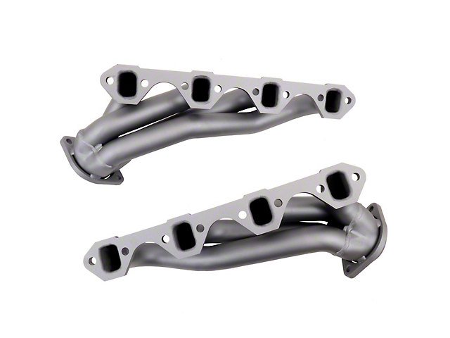 BBK 1-5/8 in. Chrome Unequal Length Shorty Headers (86-93 5.0L)