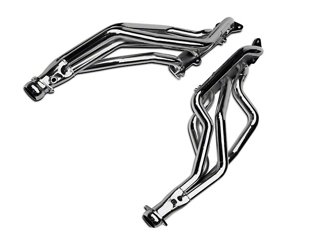 BBK 1-3/4-Inch Coyote 5.0L Swap Long Tube Headers; Chrome (79-04 All)