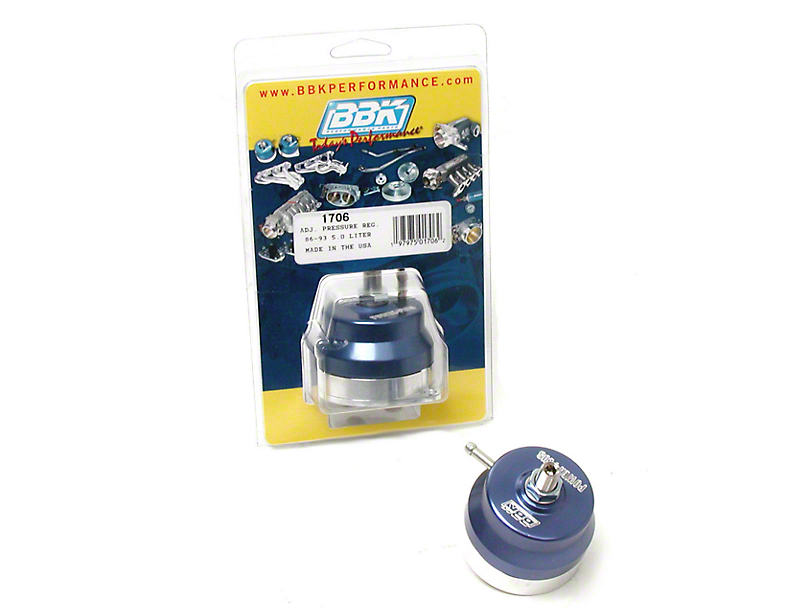 BBK Billet Adjustable Fuel Regulator (86-93 5.0L)