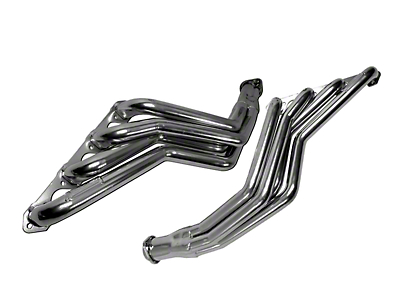 BBK 1-3/4 in. Chrome Long Tube Headers (79-93 5.8L w/ Manual Transmission)