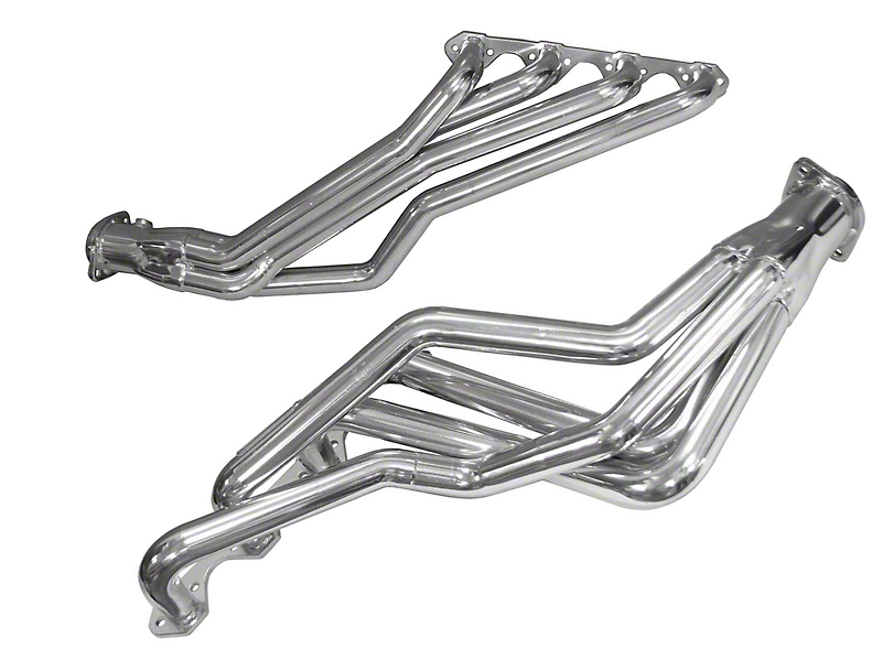 BBK 1-5/8 in. Ceramic Long Tube Headers (79-93 5.0L w/ Automatic Transmission)