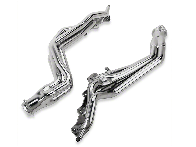 BBK 1-5/8-Inch Long Tube Headers; Ceramic (96-98 Cobra)