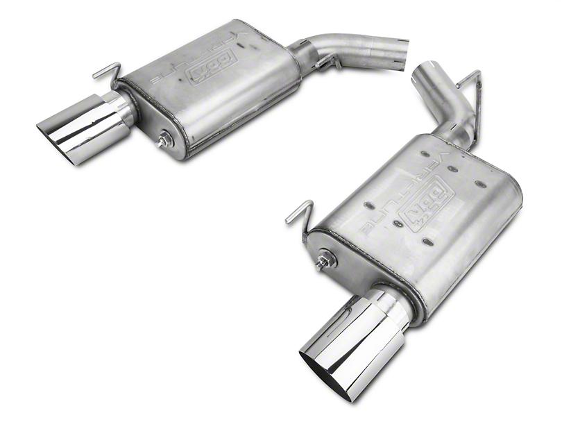 BBK Varitune Axle-Back Exhaust - Stainless Steel (05-10 GT)