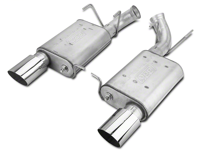 BBK Varitune Axle-Back Exhaust - Aluminized (11-14 GT)