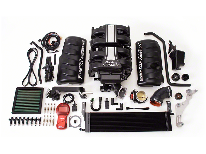 Edelbrock E-Force Stage 1 Street Supercharger Kit with Tuner (05-09 GT)