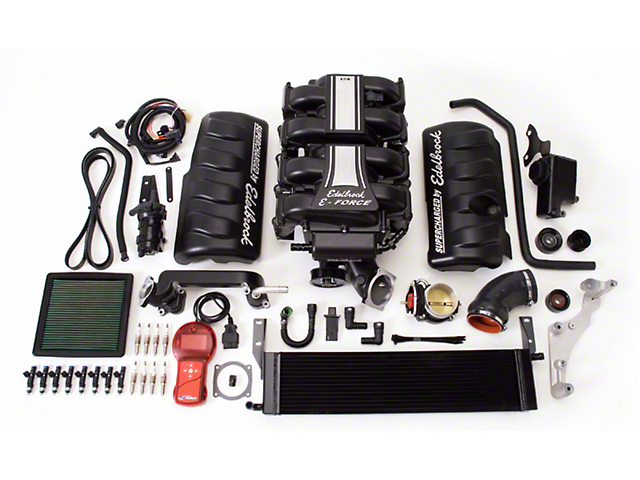 Edelbrock E-Force Stage 1 Street Supercharger Kit w/ Tuner (05-09 GT)