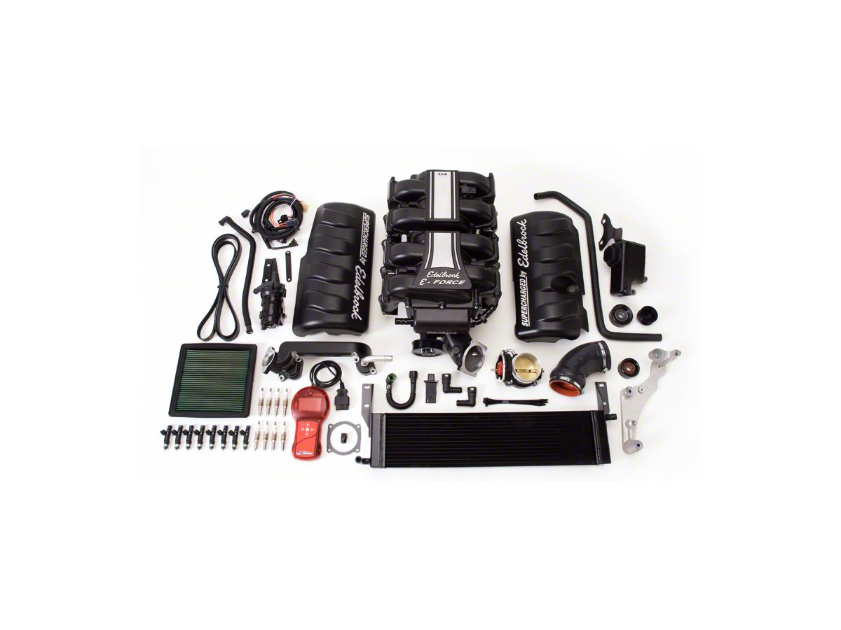 Edelbrock E-Force Stage 1 Street Supercharger Kit w/ Tuner (05-09 GT)