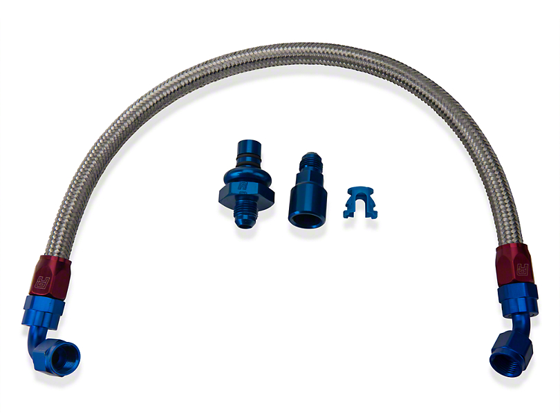 Russell Stainless Steel - AN Fuel Line Kit (05-10 GT)