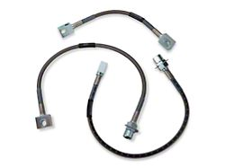 Russell Stainless Steel Braided Brake Line Kit - Front & Rear (87-93 5.0L)