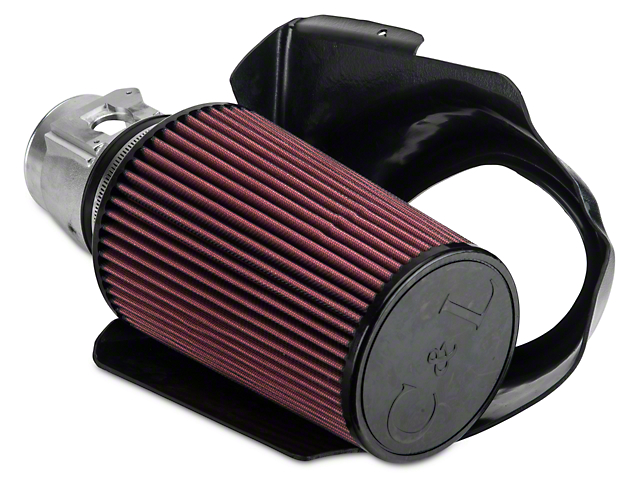 C&L Short Ram Air Intake with 85mm MAF Housing (03-04 Mach 1)