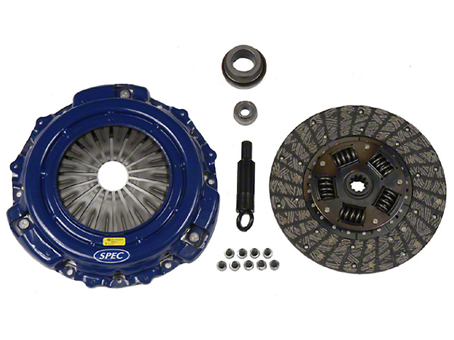 Spec Stage 1 Organic Clutch Kit; 10 Spline (Late 01-04 GT; 99-04 Cobra; 03-04 Mach 1)