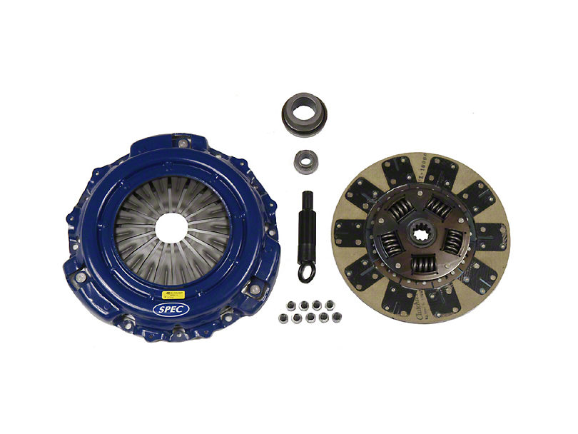 Spec Stage 2 Kevlar Clutch Kit - 10 Spline (94-04 V6)